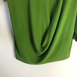 1492b3515e4b1 COS Tops - COS green drape front rayon blend top size S